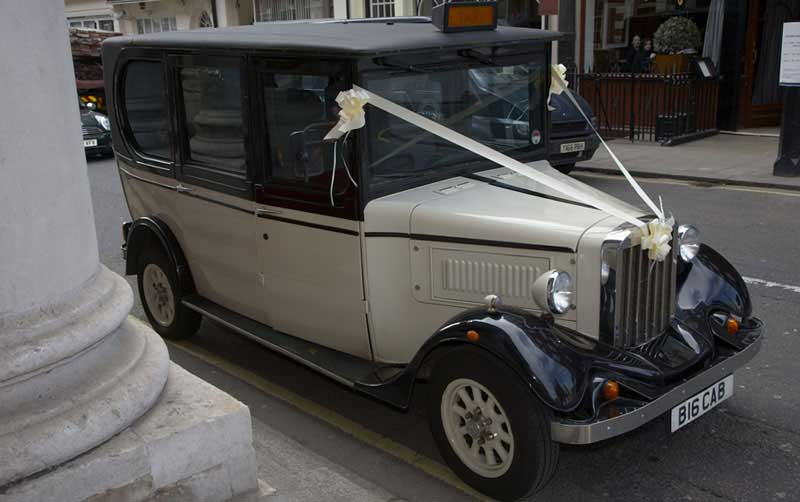 Church weddding car at St George's Hanover Square