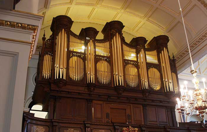 Details about St George's Hanover Square churchs new organ