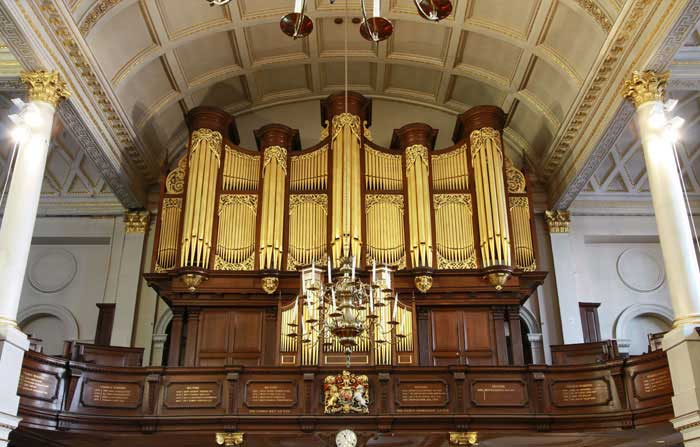 Details about St George's Hanover Square churchs new organ 1