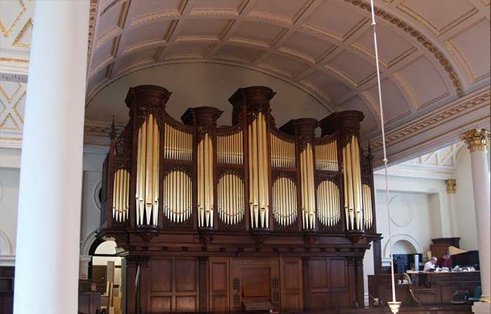 Details about St George's Hanover Square churchs new organ 3